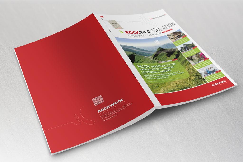 Bulletin d'information Rockinfo pour Rockwool - ZONALPHA | Agence de communication