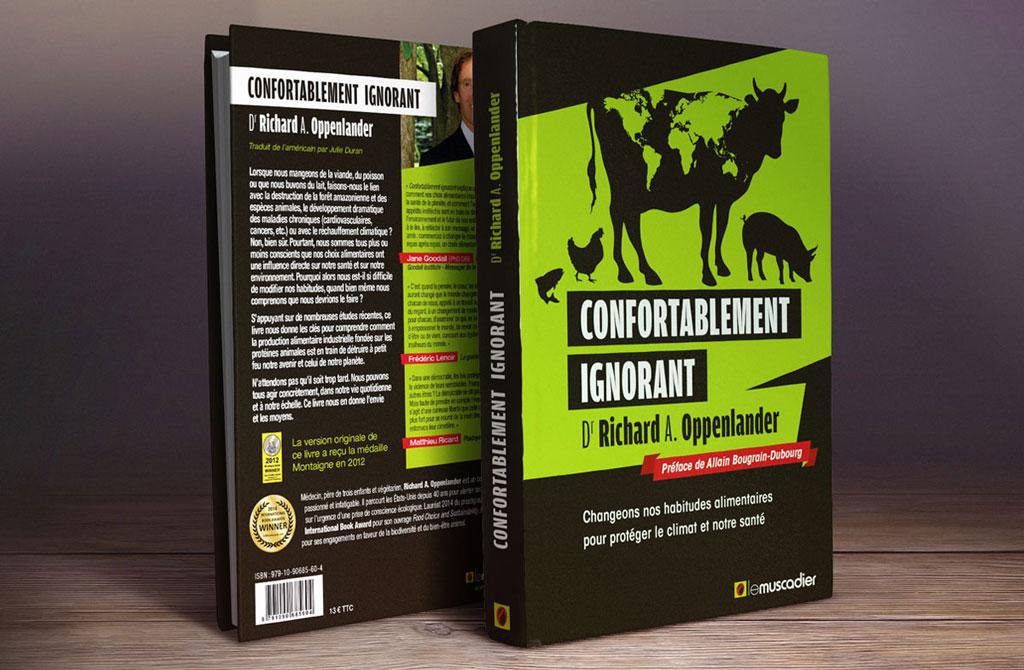 Couverture du livre Confortablement Ignorant - ZONALPHA | Agence de communication