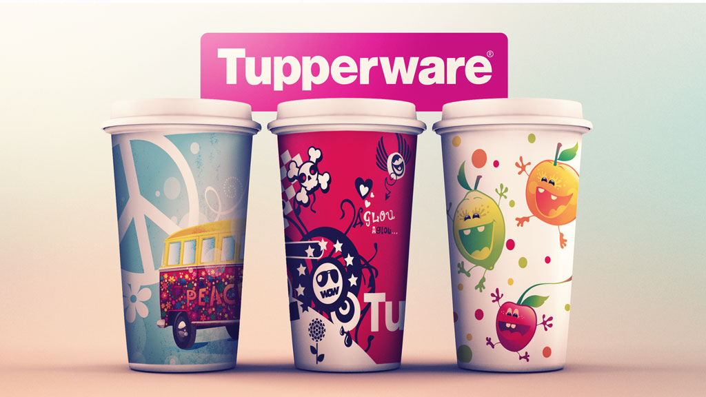 Illustration pour packaging Tupperware - ZONALPHA | Agence de communication