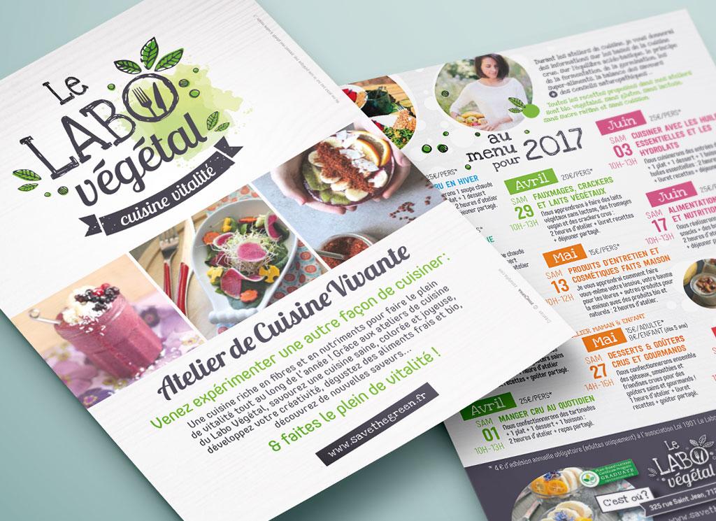 Le Labo Végétal, atelier de cuisine vivante - ZONALPHA | Agence de communication